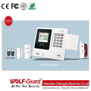 433MHz GSM Wireless Home Burglar Security Alarm System M2f pictures & photos