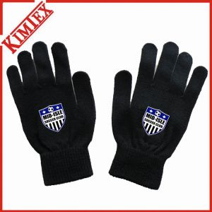 OEM Printing Knitted Magic Glove for Promotion pictures & photos