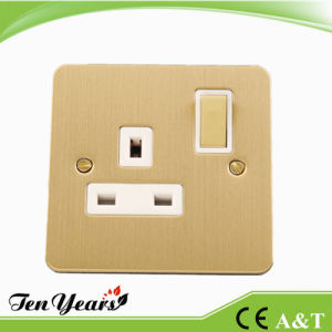 3-Feet Square Wall Switched Socket