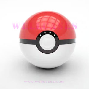 2ND Generation 12000mAh External Battery Pokemon Pokeball Power Bank with Flashlight pictures & photos