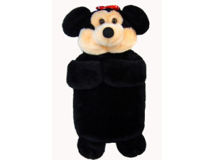 Catoon Style Plush Material Hot Water Bottle Cover pictures & photos