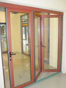 Economic Accordion Bi Folding Soundproof Door pictures & photos
