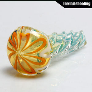 Hand Pipes Glass Smoking Pipes Spoon DAB Wax pictures & photos