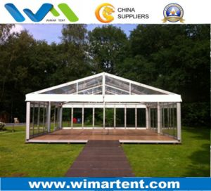 15m Transparent Tent with Glass Wall for Party Event pictures & photos