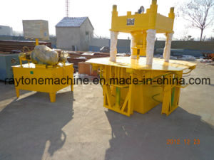 Sy-750II Manual Hydraulic Concrete Interlocking Paver Paving Block Brick Making Machine pictures & photos
