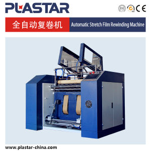 Plastic PE Stretch Film Rewinding and Slitting Machine