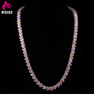High Quality Gemstone Gold Filled Chain Necklace pictures & photos