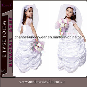 2015 White Girl Bridal Party Cosplay Costume Dress (TGY0075) pictures & photos