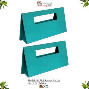 Bergamot Color Handbag Leather Basket (1813R2) pictures & photos
