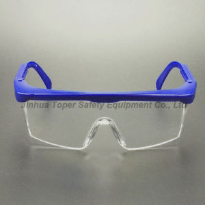 Clear PC Lens Safety Glasses Side Shield (SG100) pictures & photos