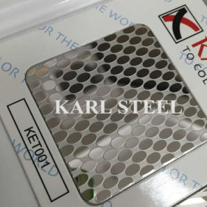 201 Stainless Steel Ket001 Etched Sheet for Decoration Materials pictures & photos