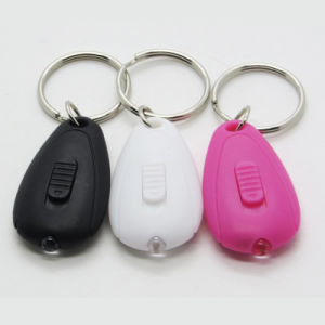 Mini Portable Key Chain Flashlight LED Key Ring pictures & photos