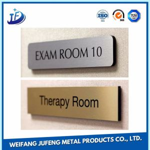 Stainless Steel/Brass Logo Name Plates for Building/Office/Company pictures & photos