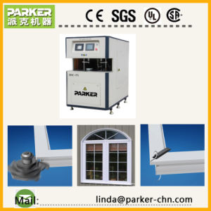 CNC PVC Window 6 Axis Corner Cleaning Machine pictures & photos