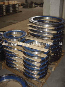 Hot Forged Duplex Stainless Steel Flange of Material A182 F53