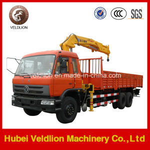 Dongfeng Truck with 10 Ton Crane (straigh arm) pictures & photos
