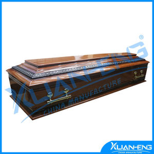 Wooden Coffin of European Style From China pictures & photos