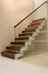 Normal & Simple Wood Stairs Detail pictures & photos