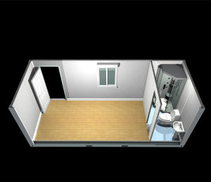 Prefabricated Container House for Office Project pictures & photos