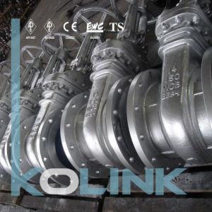 Cast Steel Gate Valve Flange Connection Bb OS&Y pictures & photos