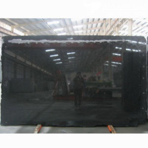 Polished Shanxi Black Granite Slab for Flooring/Wall pictures & photos