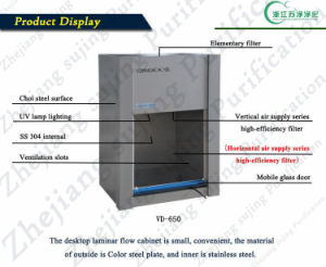 Factory Direct Sales Laminar Flow Cabinet (VD-650) pictures & photos