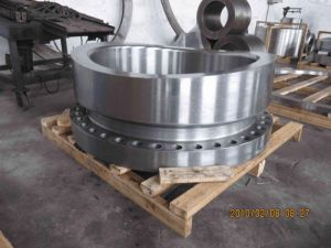 Hot Forged Reducing Nozzle Flange of Material A182 F11 pictures & photos