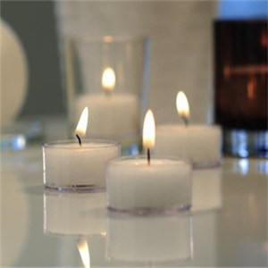 Yes Handmade White Color Soy Wax Candles pictures & photos