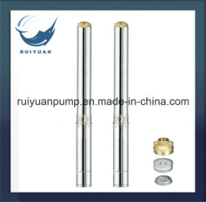 "High Quality 4"" 750W 1HP Copper Wire Deep Well Submersible Water Pump S. S. Water Pompa pictures & photos"