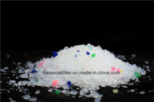 Environmental Multilcolored Silica Gel Cat Sand Litter pictures & photos