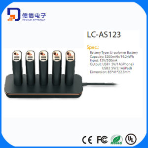 10 USB Ports USB Charger with Battery (LC-AS123) pictures & photos