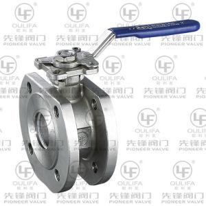 Wafer Thin Ball Valve with Direct Mounting Pad (PSQ72F-16P) pictures & photos