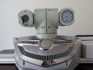 High Speed Pan Tilt Camera on The Roof of The Police Car, Laser Camera pictures & photos