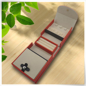 Fashionable PU Leather Top Sale Elegant White Jewelry Box