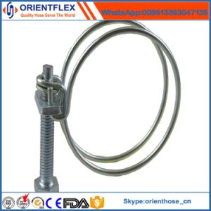 Good Quality and Best Price Double Wire Hose Clamp pictures & photos