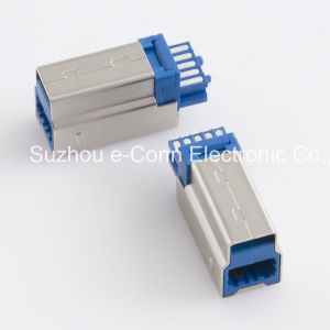 USB Type B Male Connector Usbx-B9mx-Xxs0-10 pictures & photos