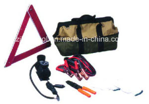 Portable Emergency Roadside Auto Tool Kit with Booster Cable pictures & photos