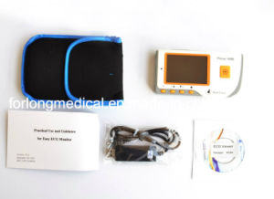 Easy Operation Handheld ECG EKG Monitor Electrocardiogram LCD Prince 180b pictures & photos