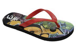 Last Design Fashion Colorful Rubber Flip Flops pictures & photos