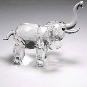 K9 Crystal Clear Elephant Animal Model Ks030002 pictures & photos