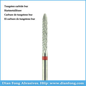 Q023fe Fine Cross Cut Dental Carbide Cutter for Metal pictures & photos
