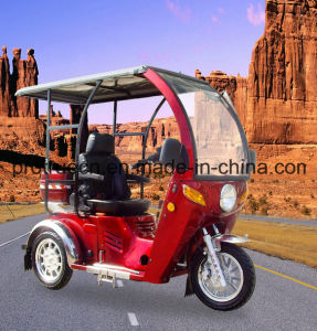 110cc Handicapped Tricycle with Glass Cover/3 Wheel Motorcycle (DTR-12) pictures & photos
