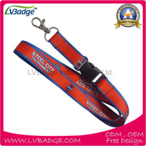 Factory Hotsales of Custom Polyester Printed Lanyard pictures & photos
