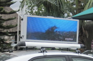 P3 Outdoor Taxi Top Waterproof LED Display pictures & photos