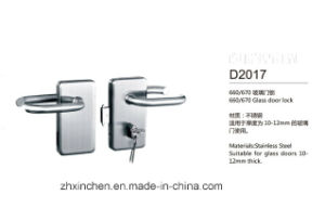Xc-D2017 High Quality Glass Door Lock pictures & photos