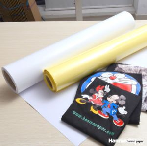 Eco Solvent Printing White Vinyl Transfer Film for Cotton pictures & photos