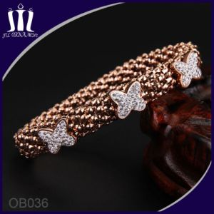 2017 Trendy Fashion Snake Rose Gold Bangle for Girl pictures & photos