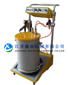 Motorbikes Manual Electrostatic Powder Coating Machine pictures & photos