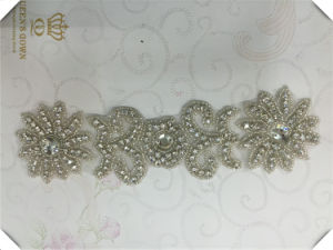 The New Handmade Wedding Dress Rhinestone Belts, DIY Accessories pictures & photos