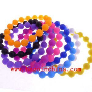 Popular Colorful Silicone Rubber Bracelet pictures & photos
